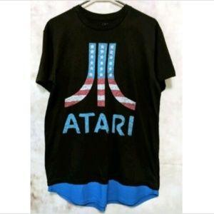 🌸Host Pick🌸 Atari Patriotic Graphic T SS Crew
